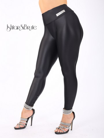 Cheeks legging in matt shiny lycra 1