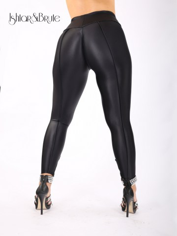 Cheeks legging in matt shiny lycra 4
