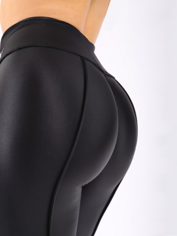 Cheeks legging in matt shiny lycra 8