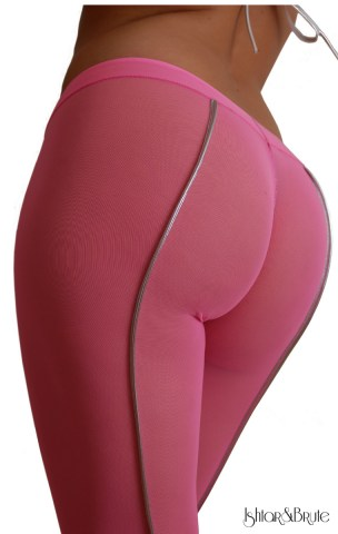 Cheeks legging in pink mesh1