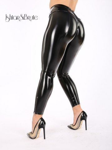 Cheeks pant s in black PU 1