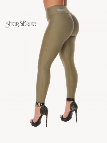 Ishtar and Brute Cheeks pants seamless front khaki green 15