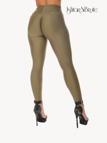 Ishtar and Brute Cheeks pants seamless front khaki green 28
