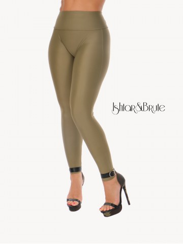Ishtar and Brute Cheeks pants seamless front khaki green 38