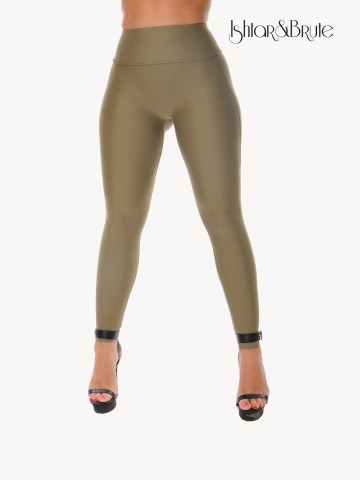 Ishtar and Brute Cheeks pants seamless front khaki green 45