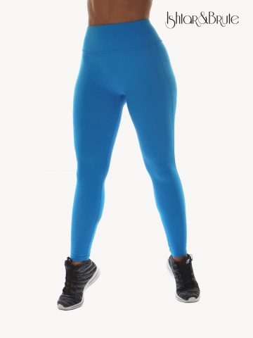 Ishtar and Brute Cheeks pants seamless front light blue matt spandex 1