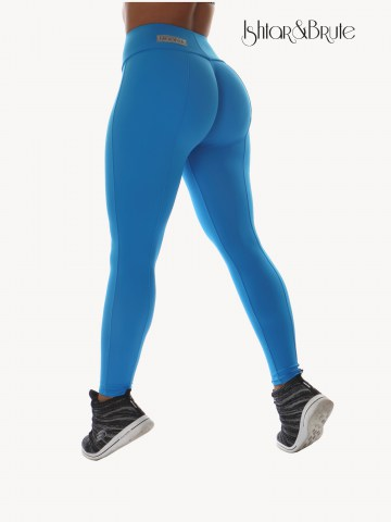 Ishtar and Brute Cheeks pants seamless front light blue matt spandex 2