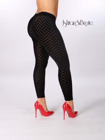 Ishtar and Brute cheeks legging in velvet fishbone ausbrenner 2