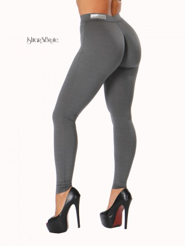 Ishtar and Brute cheeks legging seamless heather grey 3