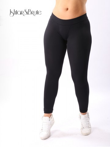 cheeks legging in black matt spandex 1