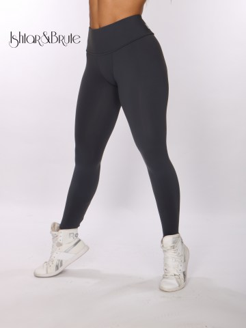 ishtar and brute cheeks legging in grey matt spandex 2