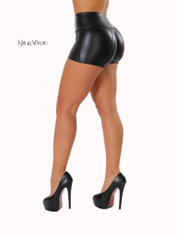 ishtar and brute leatherette short 2