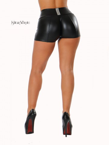 ishtar and brute leatherette short 3