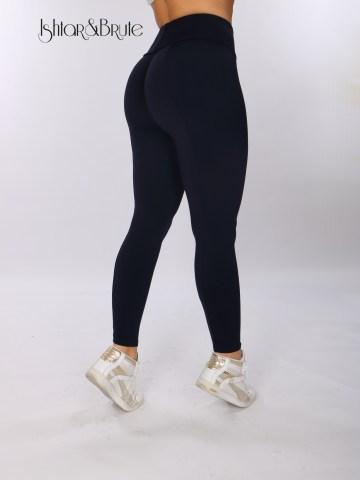 ishtar and brute navy blue matt spandex cheeks leggings 6